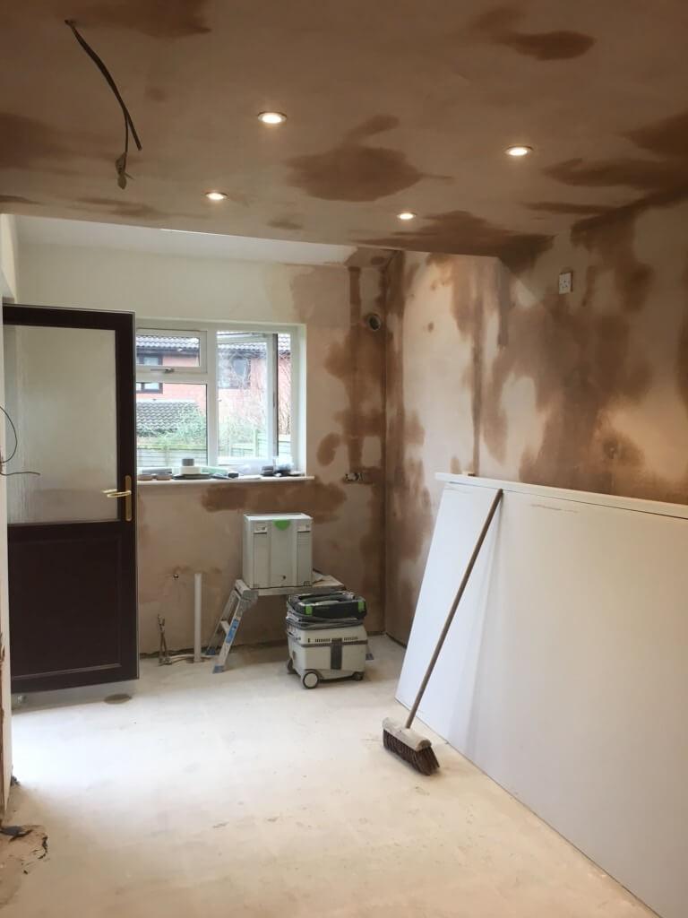 plastering renovations